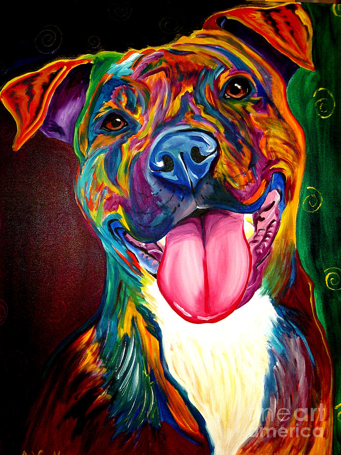 Pitbull Wall Art