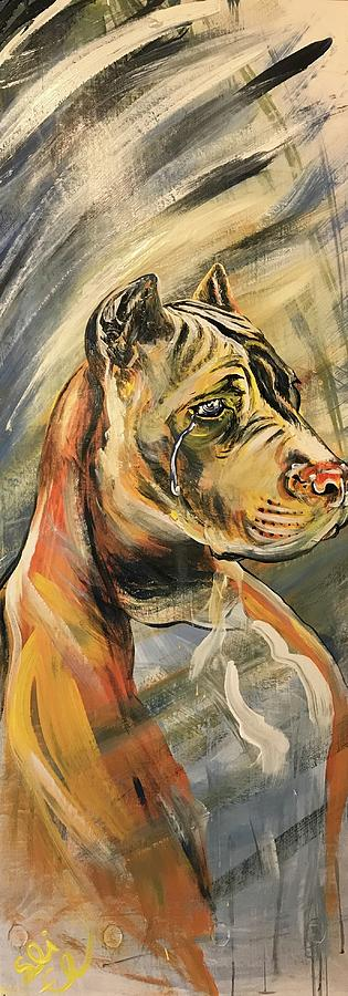 Pit-bull Tears by Sean Linell Ivy-El