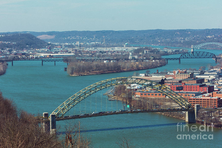 Pittsburg City Skyline Photograph