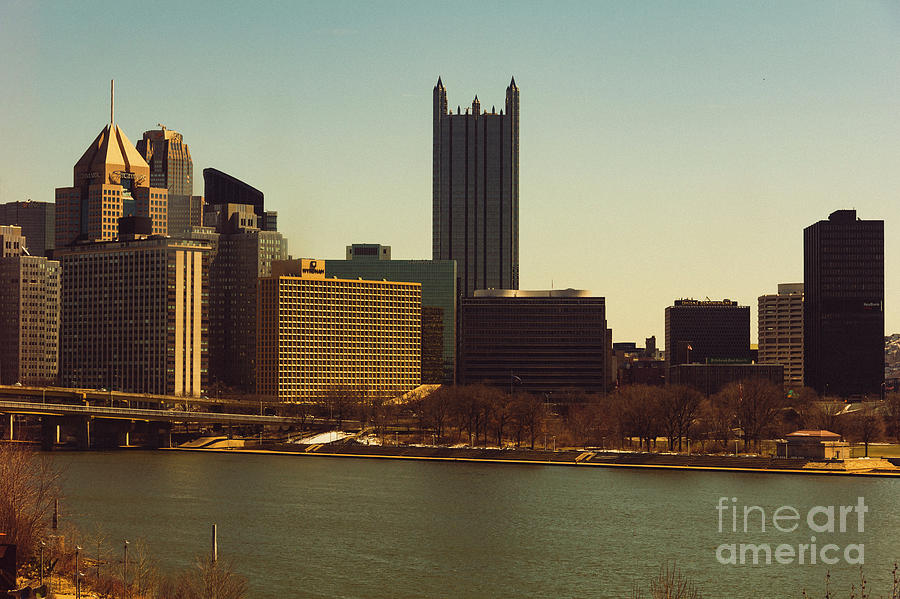 Pittsburg Skyline Photograph