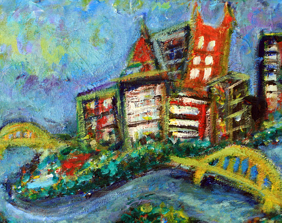 Pittsburgh  Painting by Jason Gluskin