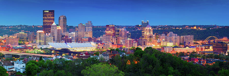 Steelers  Photograph - Pittsburgh Pano 3 by Emmanuel Panagiotakis