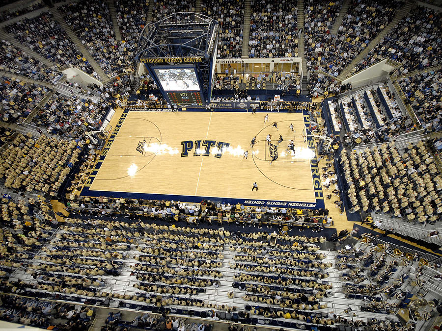 Peterson Event Center Photograph - Pittsburgh Panthers Petersen Events Center by Replay Photos