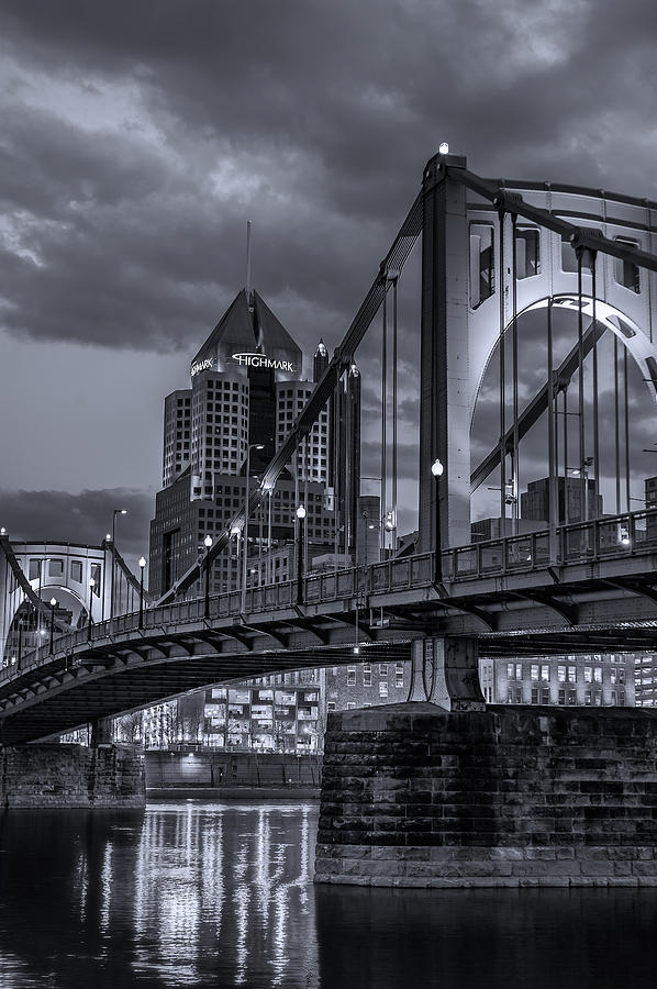 Image result for black and white skyline pittsburgh