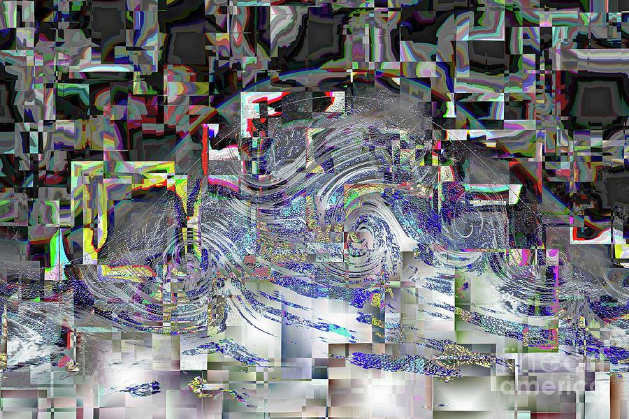 Pixel Crash Digital Art