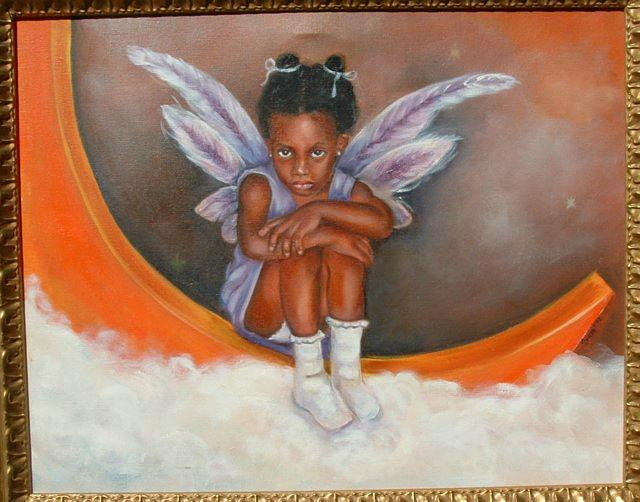 Pixie Tamia Painting by Gwendolyn Frazier