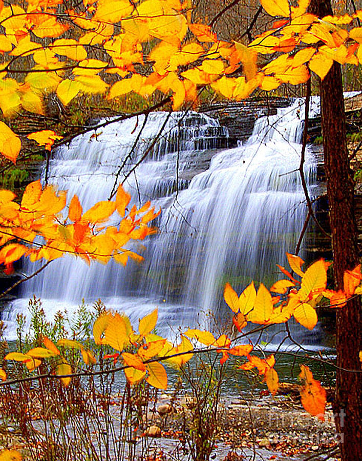 Berry Photograph - Pixley Falls by Diane E Berry