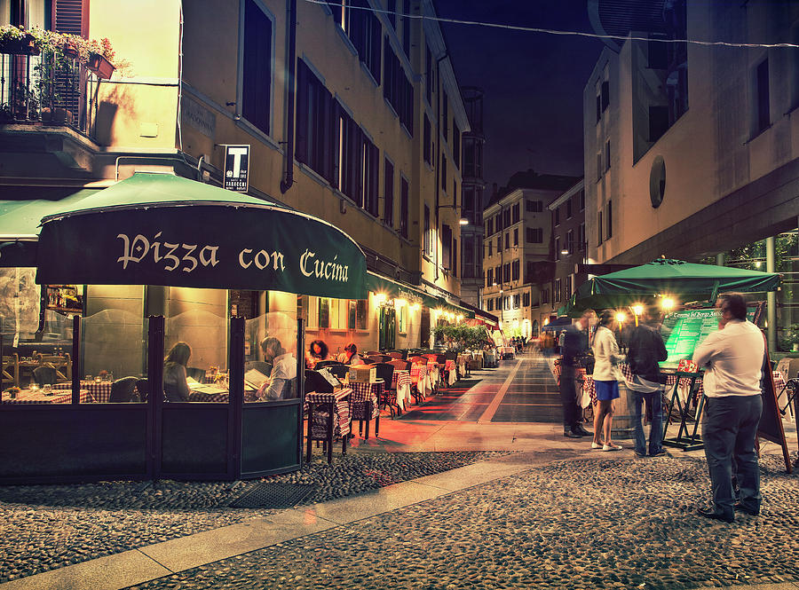 Pizza In Milan Photograph