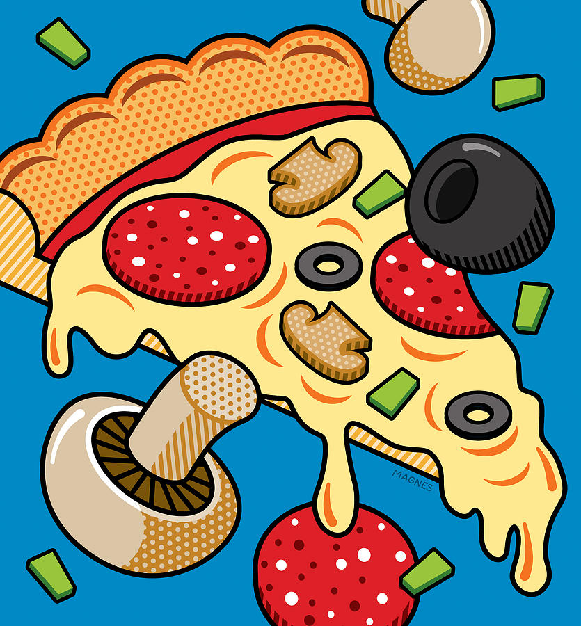 Pizza Art   Fine Art America