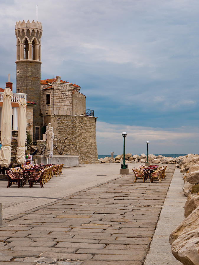 Piran Photograph - Place By The Sea by Rae Tucker