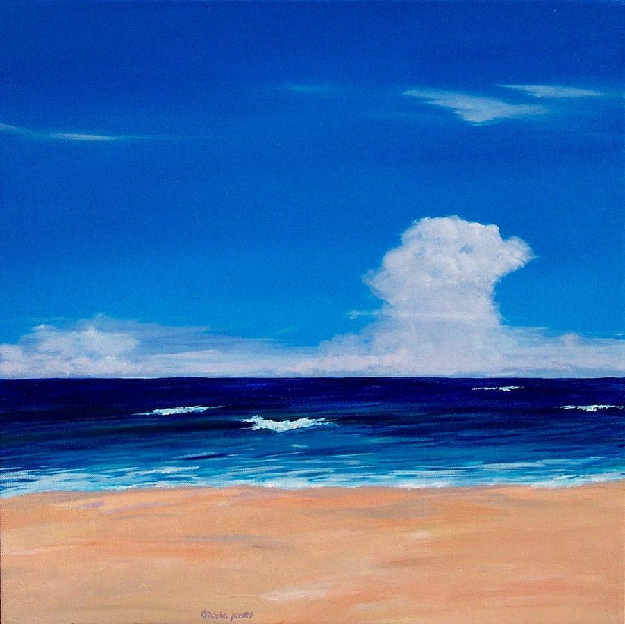 Acrylic Painting - Placidity by Dave Jones