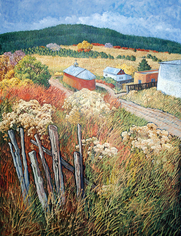 New Mexico Painting - Placitas by Donna Clair