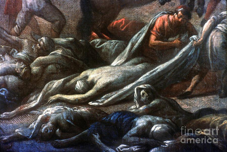 1720 Photograph - Plague In Marseilles, 1720 by Granger