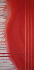 Plaid Painting by Christopher Makens