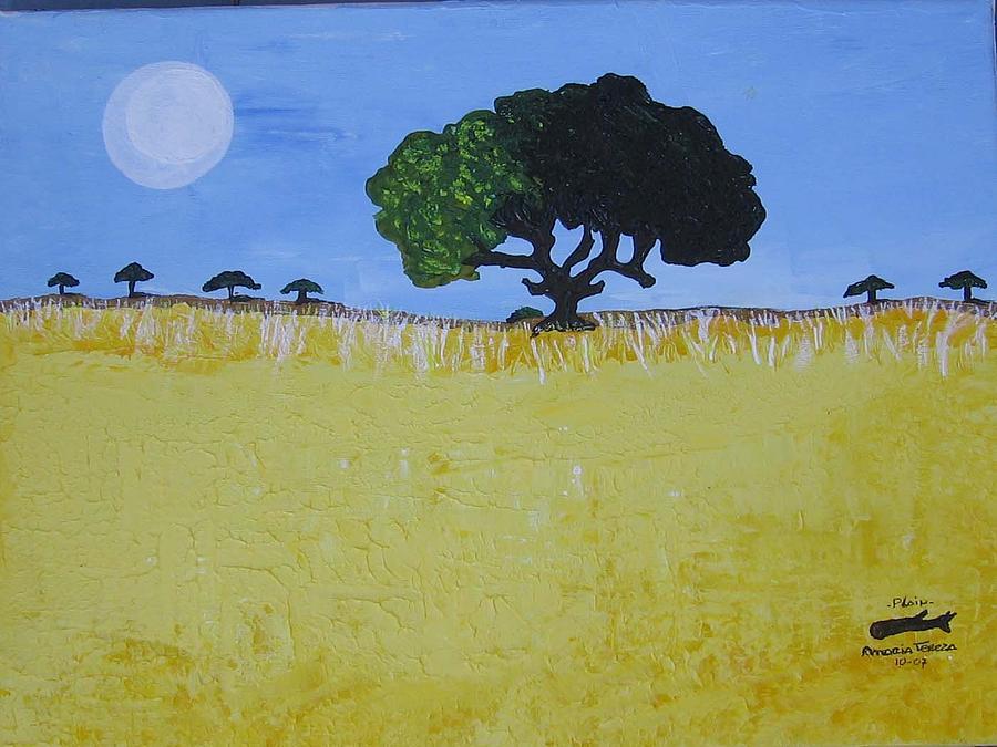 Plain Painting by Maria tereza Braz