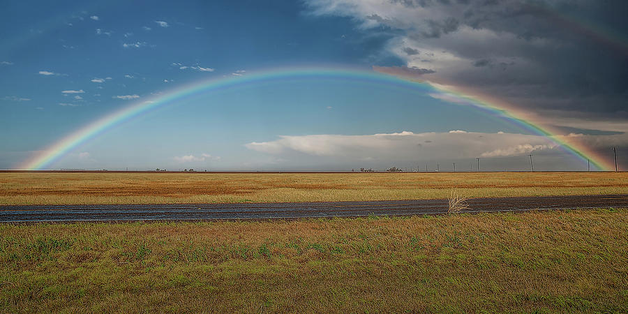 Weather Photograph - Plainview Rainbow by Scott Cordell