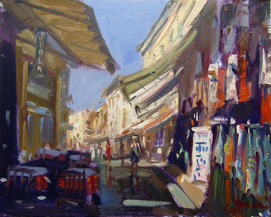 Monastiraki Painting - Plaka Athens Greece by Ylli Haruni