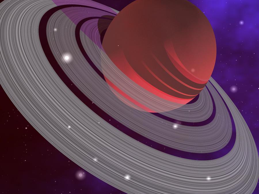 Planet 3 Digital Art by Robert aka Bobby Ray Howle