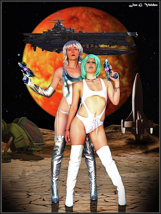 Vixen Photograph - Planet Of The Space Vixens by Jon Volden