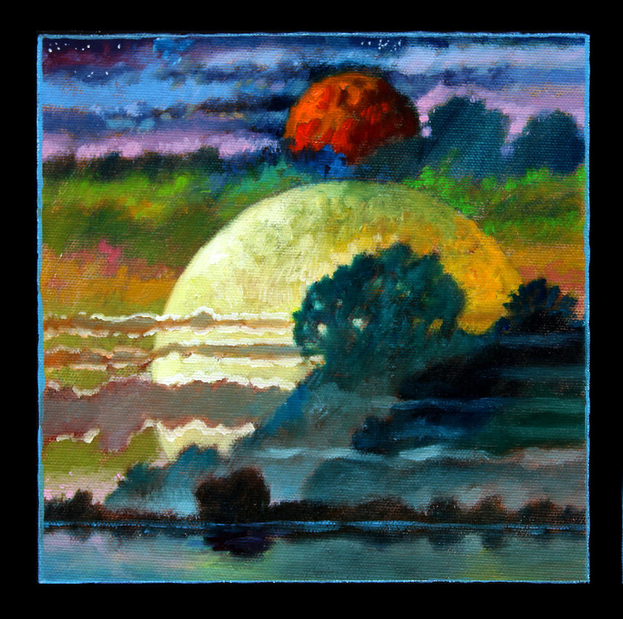 Planets Painting - Planets Image One by John Lautermilch