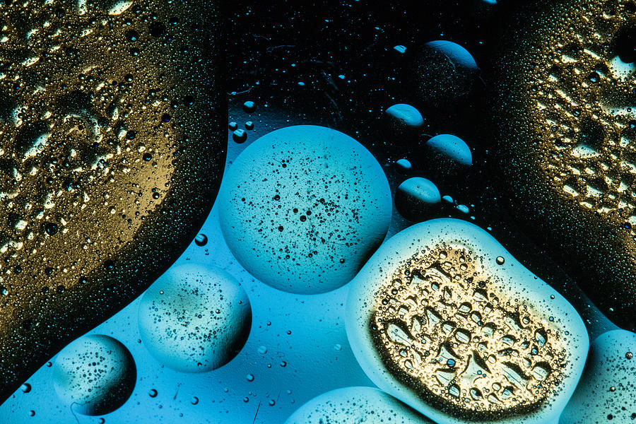 Food Color Photograph - Planets In Line by Victor Vega