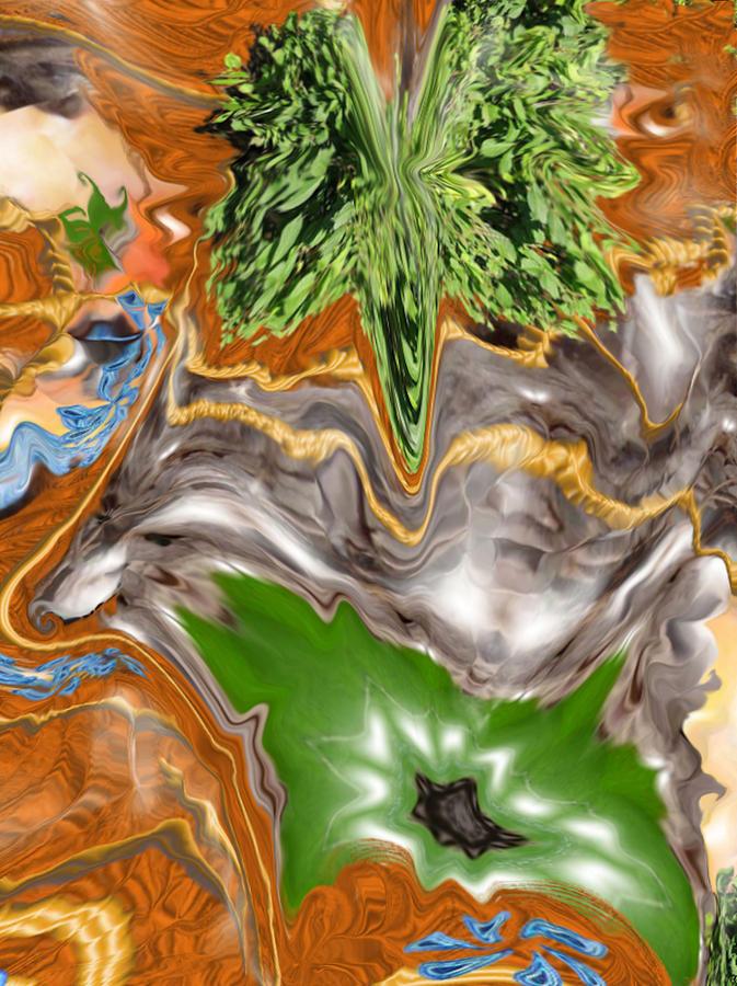 Plankton Digital Art - Plankton Soup by Stephanie  H Johnson