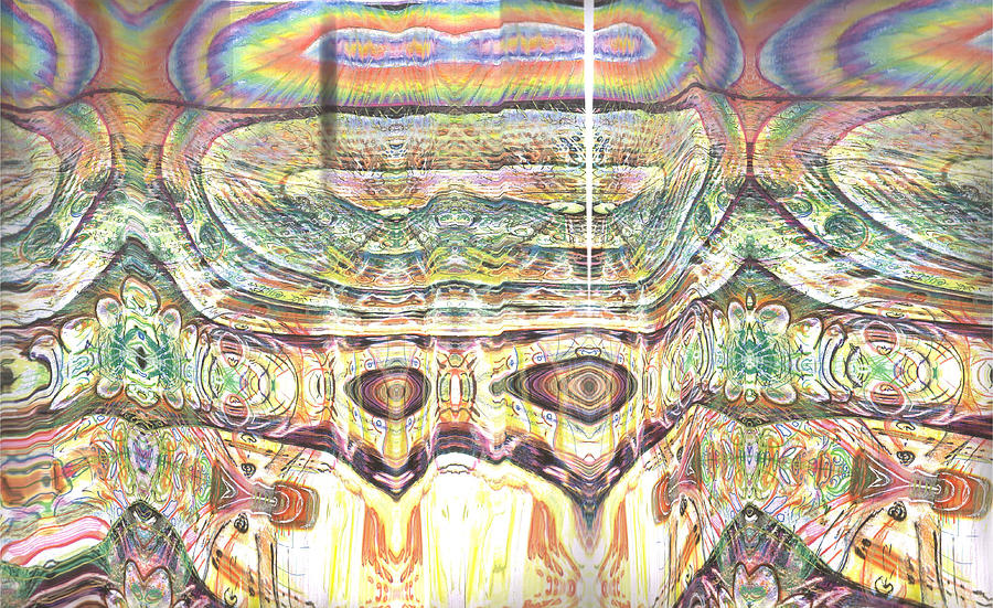 Planospheric Consciousness Painting by Jeremy Robinson