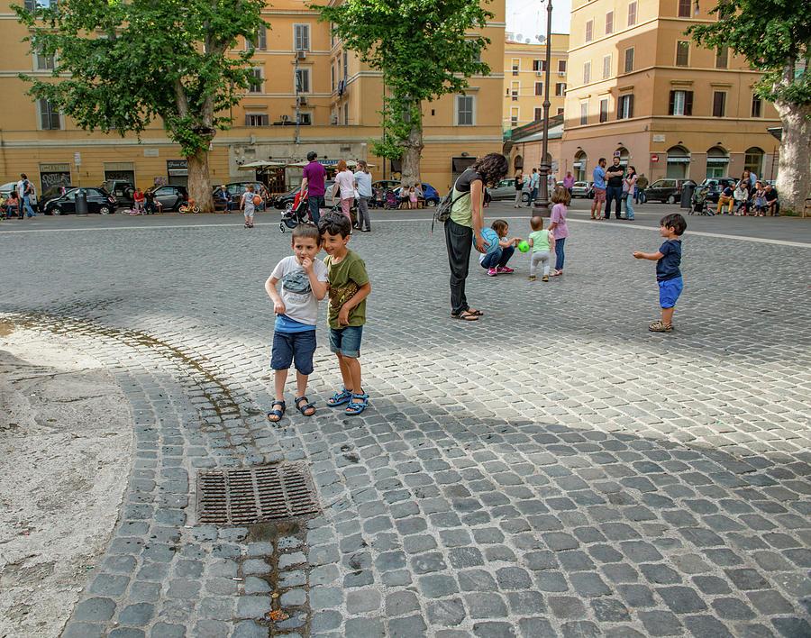 Roma Photograph - Plans by Joseph Yarbrough