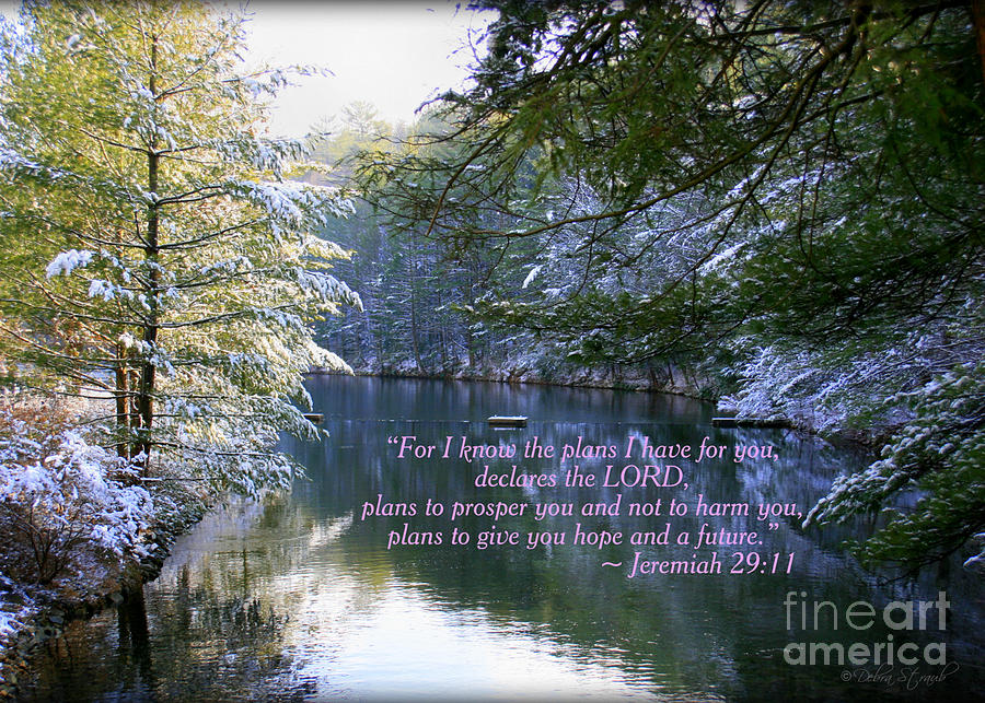 Landscape Photograph - Plans Of Hope by Debra Straub