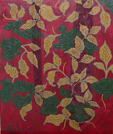 Mixed Media Painting - Plant Life by Catherine Gutsche