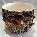 Cermaic Ceramic Art - Planter by T  Moyo