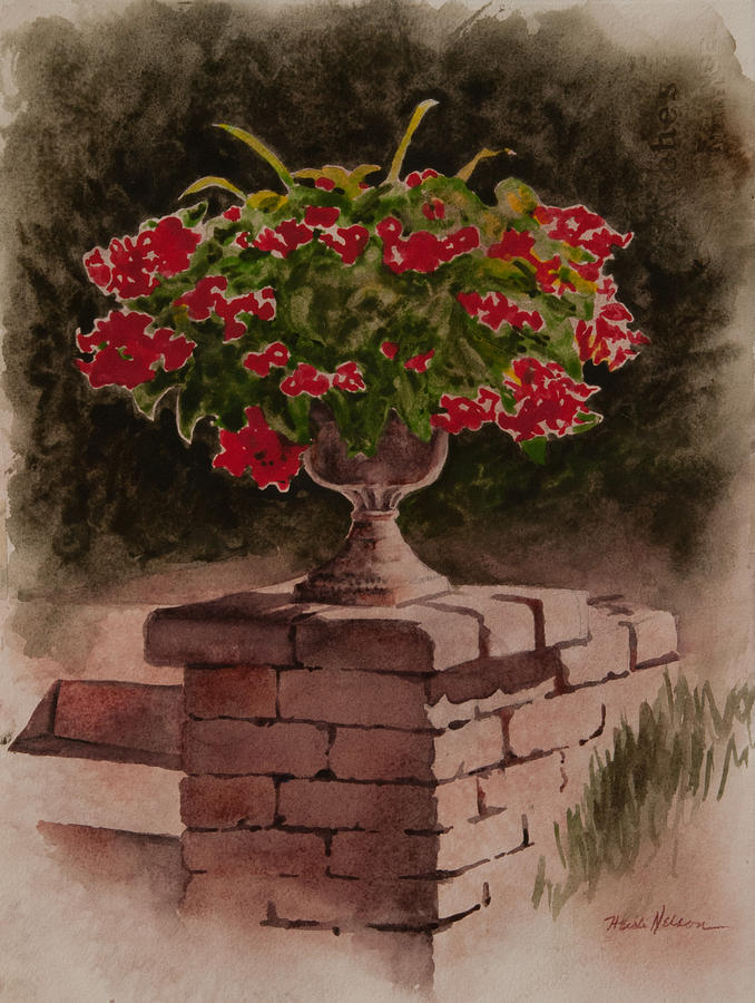 Planter Vignette by Heidi E Nelson