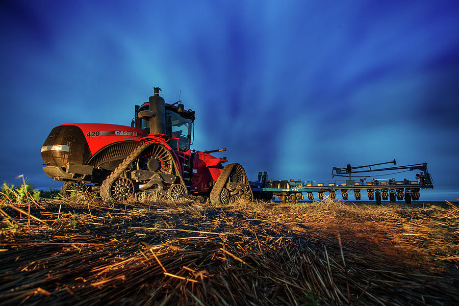 Planting Red by Thomas Zimmerman