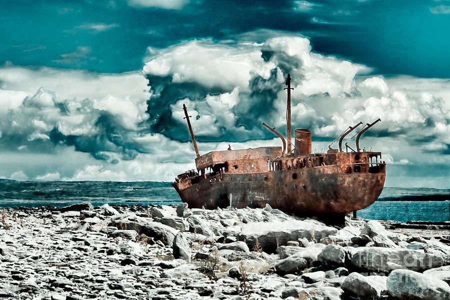 Plassey Photograph - Plassey Wreck by Gabriela Insuratelu