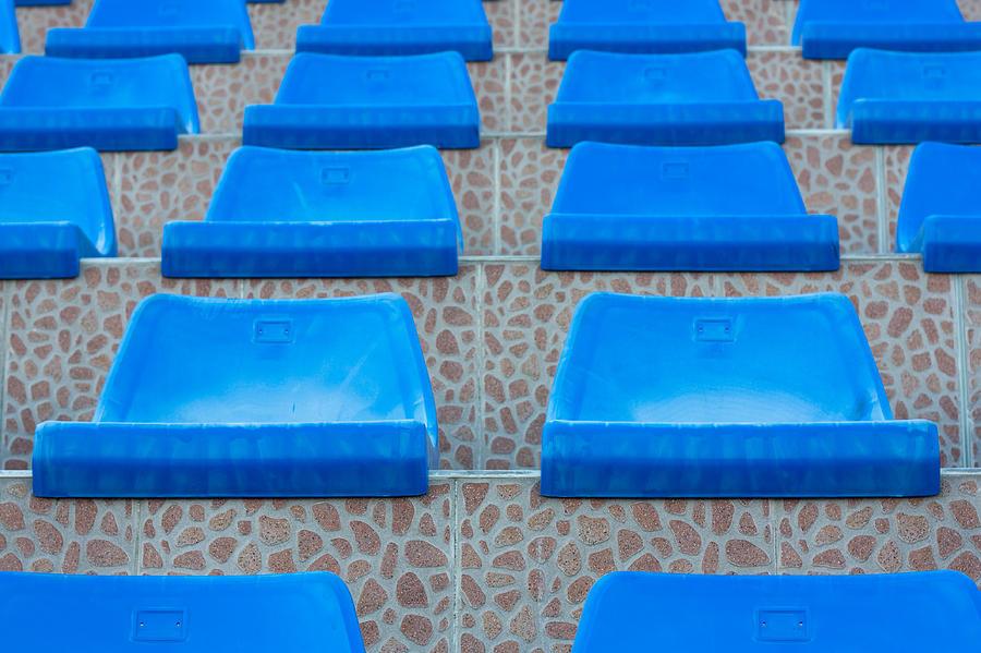 Abandoned Photograph - Plastic Sits by Boyan Dimitrov