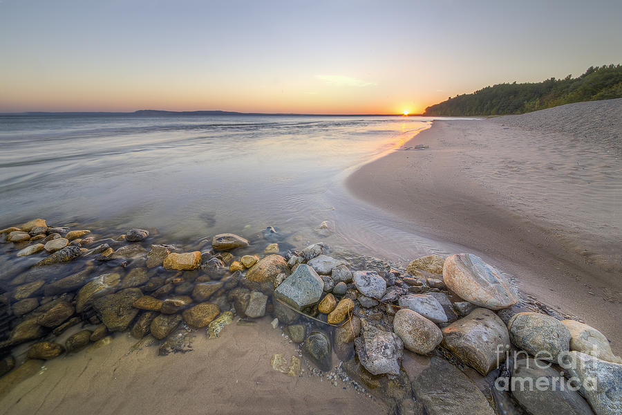 Sleeping Bear Dunes Photograph - Platte River Sunrise by Twenty Two North Photography