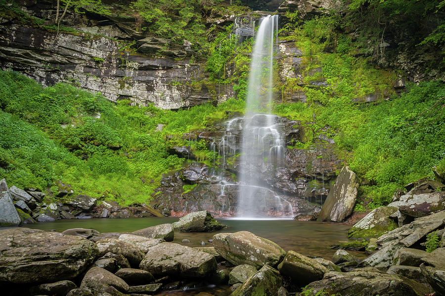 Plattekill Falls  by Steve L'Italien