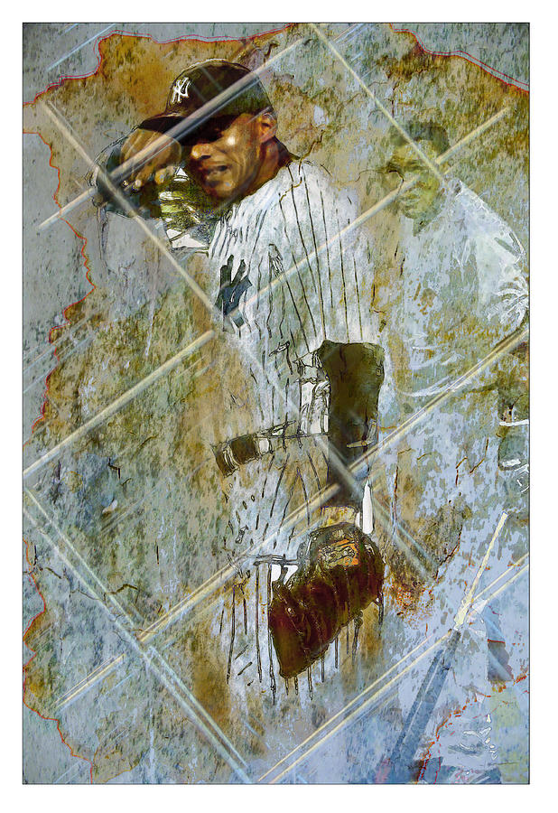Baseball Painting - Play Ball by James Robinson