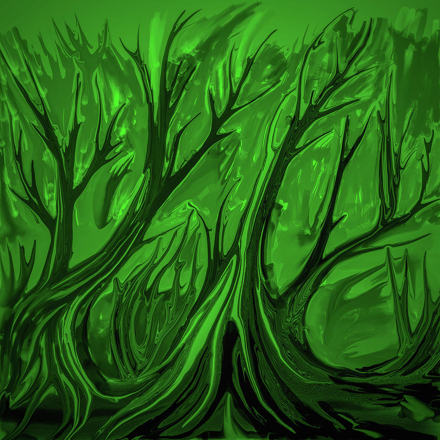 Play Digital Art - Play Green #h6 by Leif Sohlman