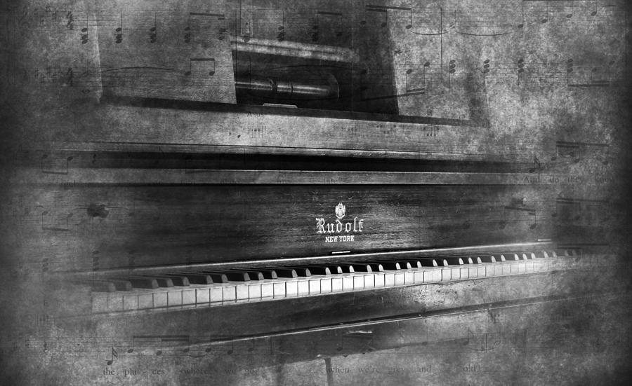 Player Piano Photograph - Play Me A Memory by Peter Chilelli