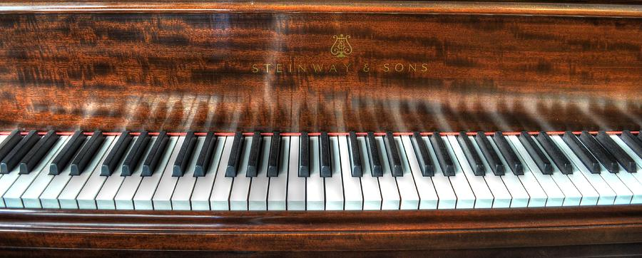 Piano Photograph - Play Me by David Morefield