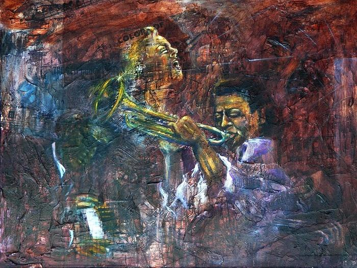 Music Painting - Play On by Sofanya White