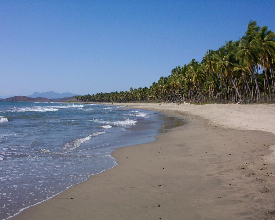 Beach Photograph - Playa Blanca by James Johnstone