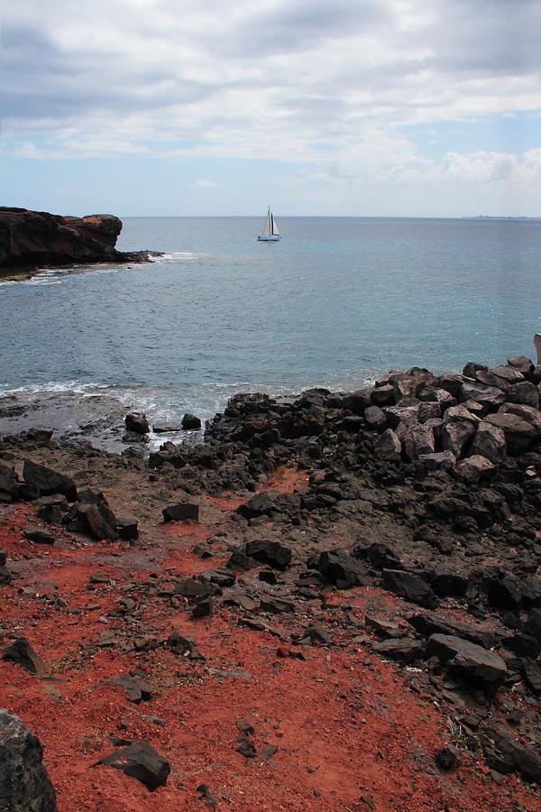Ocean Photograph - Playa Blanca - Lanzarote by Cambion Art