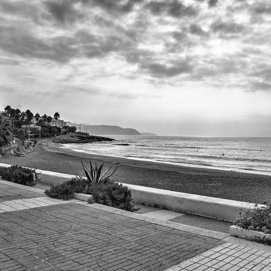 Europe Photograph - Playa Burriana, Nerja by John Edwards