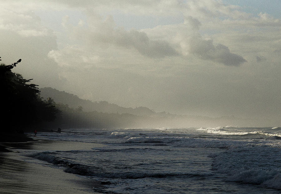 Playa Negra Beach At Sunset In Costa Rica by Pete Hendley