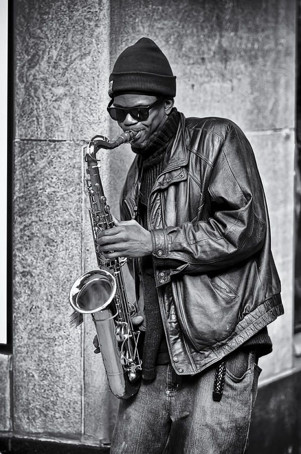 Sax Photograph - Player 2 by James Bull