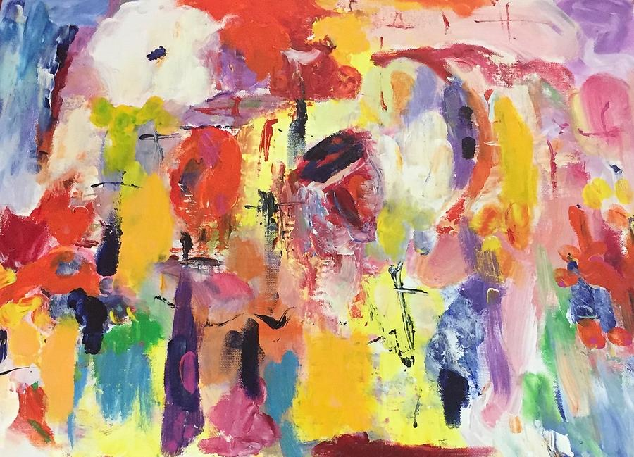 Playfulness Painting - Playfulness by Carol Stanley