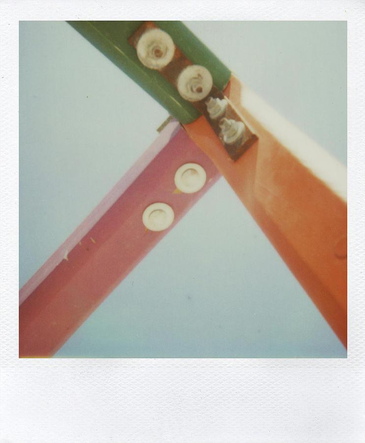 Polaroid Photograph - Playground 1 by Alex Conu