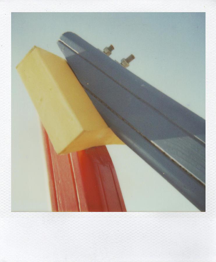 Polaroid Photograph - Playground 3 by Alex Conu